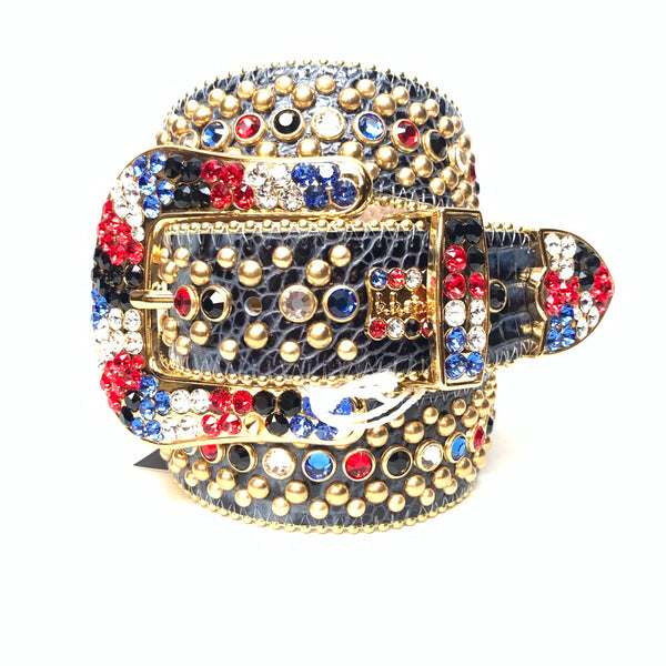 b.b. Simon 'Fiesta' fully loaded swarovski crystal belt