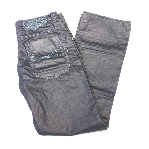 Angelino 'Paco' Charcoal Wax High End Denim - Dudes Boutique
