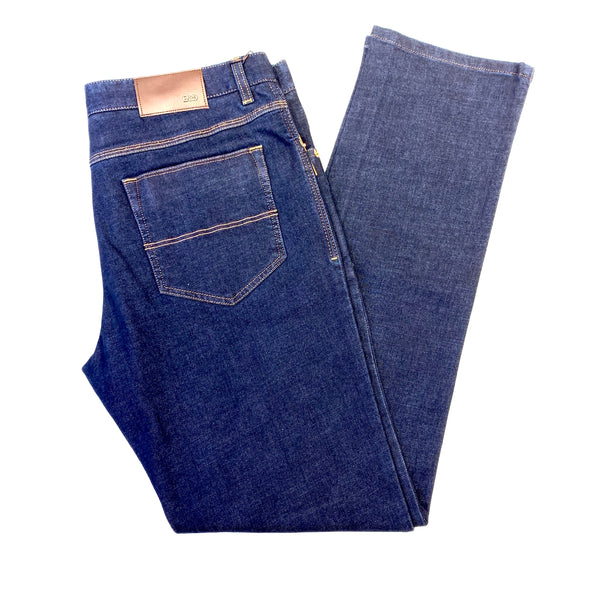 Enzo 'Jeep-1' High End Denim Trousers - Dudes Boutique