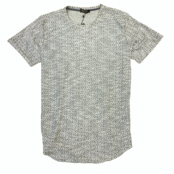 Gold Leaf Charcoal Green Short Sleeve Shirt - Dudes Boutique