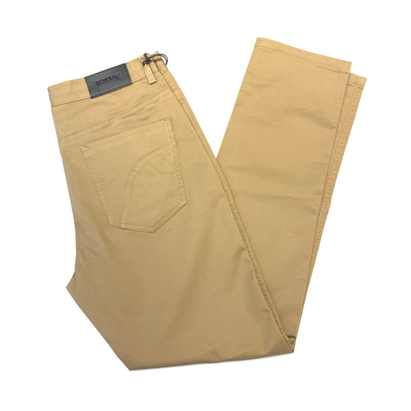 Barabas Coffee Straight Leg Slacks - Dudes Boutique