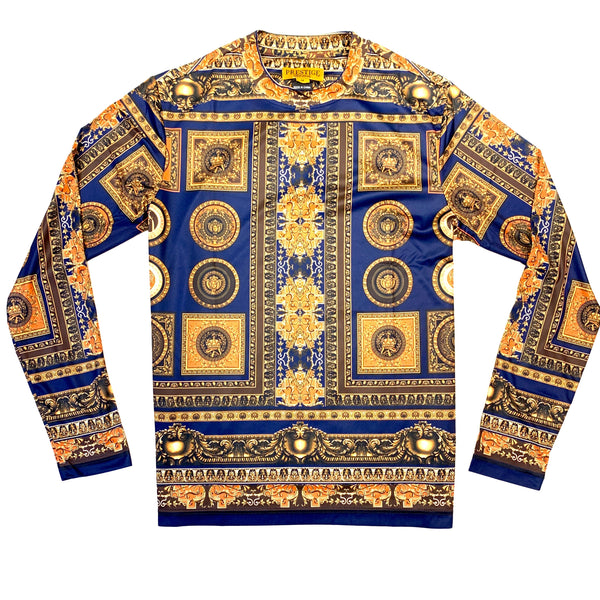 Prestige Navy Milan Empire L/S Shirt