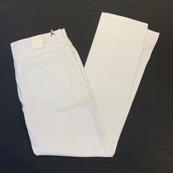 Enzo White High-end Pants - Dudes Boutique