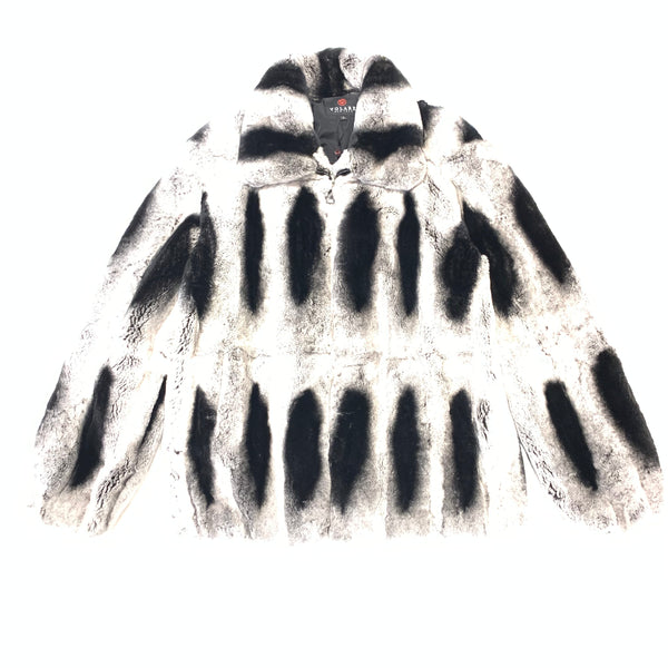 Volare Men's Chinchilla Fur Coat - Dudes Boutique