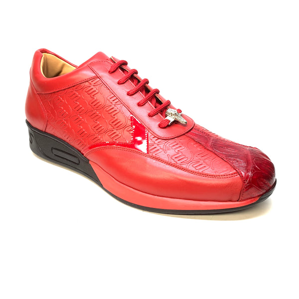 Mauri M770 Red Crocodile Sneakers
