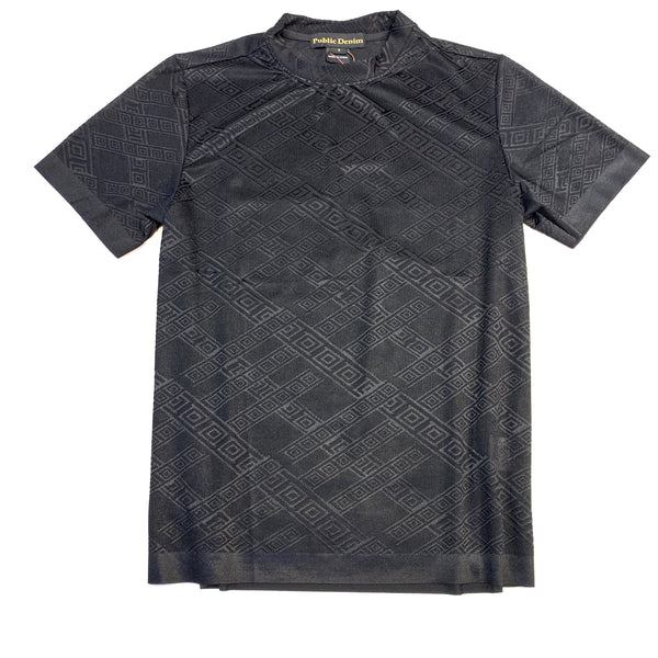 Public Denim Matrix Diamond Short Sleeve T-Shirt