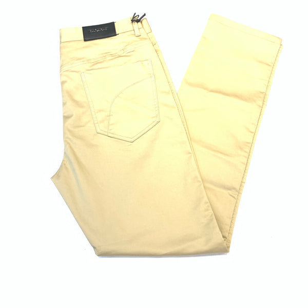 Barabas Khaki Straight Leg Slacks - Dudes Boutique