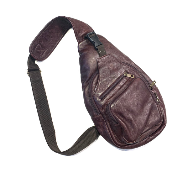 Scully Contemporary Leather Sling Bag - Dudes Boutique
