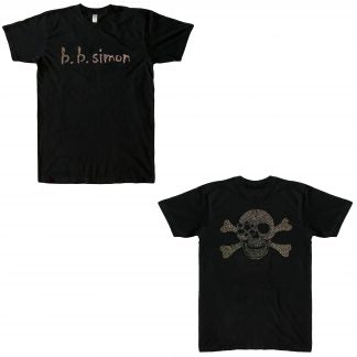 b.b. Simon Pirate Swarovski Crystal T-shirt