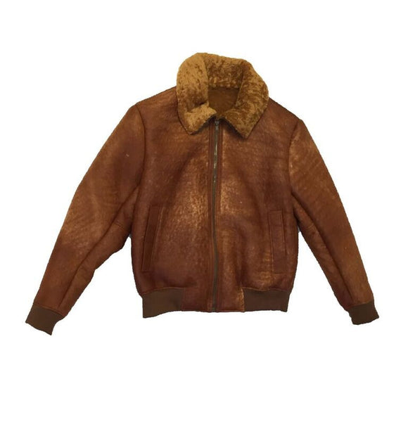 Jakewood - 5500 Mongolia Junclia Sheepskin Jacket - Dudes Boutique