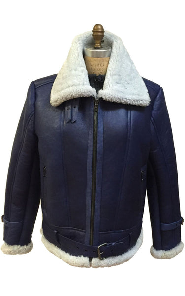 Jakewood - 6300 Shearling Bomber Jacket - Dudes Boutique - 1