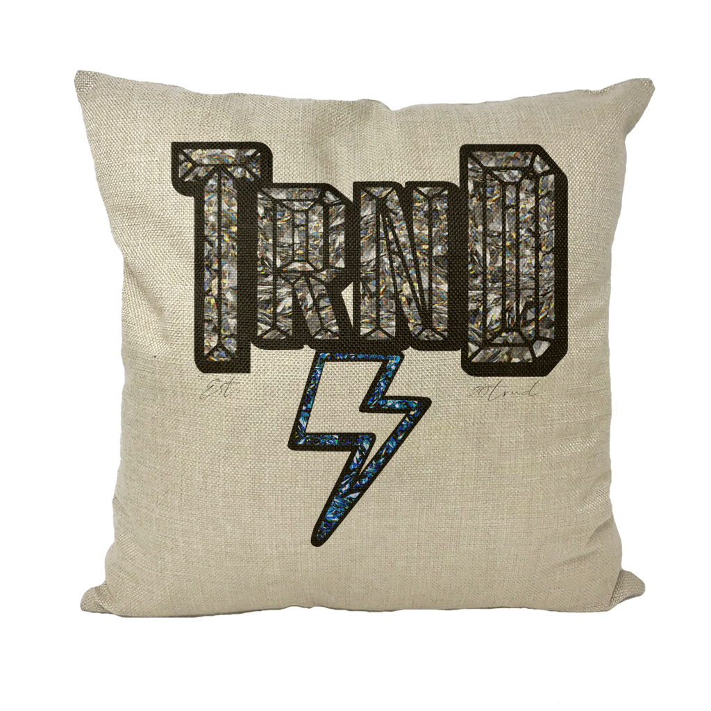 TRND Gemz YlnMn Throw Pillow with Insert