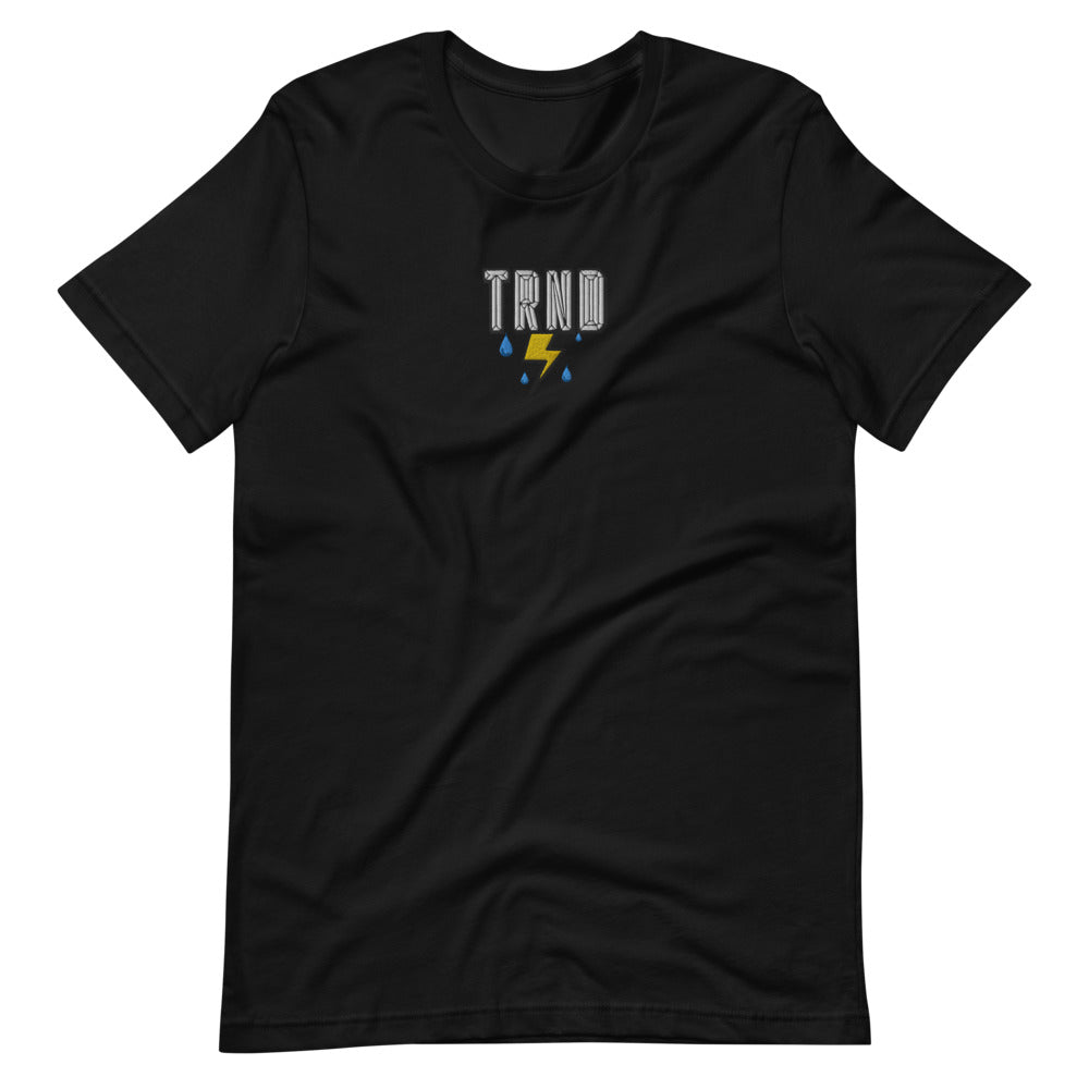 TRND Cloudy Bolt Embroidered Tee