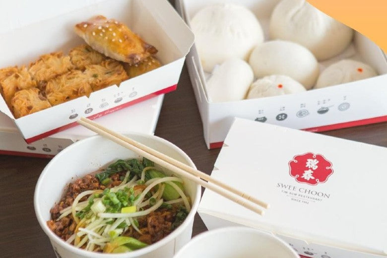 Best Dim Sum Delivery Singapore: Swee Choon Tim Sum Restaurant (supper delivery available)