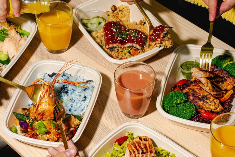 Best TingKat Food Delivery Singapore: Grain (gluten-free and vegetarian food delivery available)