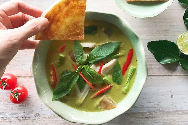 Best Thai Food Delivery Singapore: Thai Accent (vegetarian-friendly food delivery available)