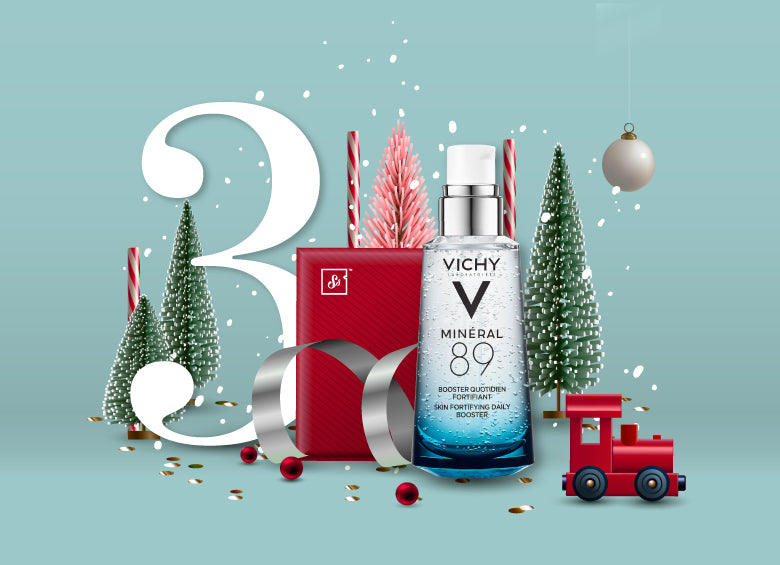Free Vichy Mineral 89 - Skin Fortifying Daily Booster sample as Christmas gift