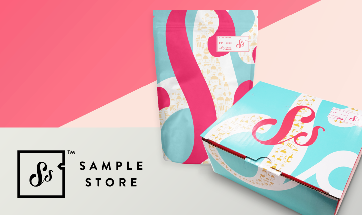 Sample Store Pouches and Boxes