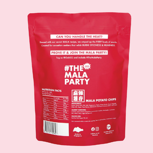 Ooh MALA Potato Chips