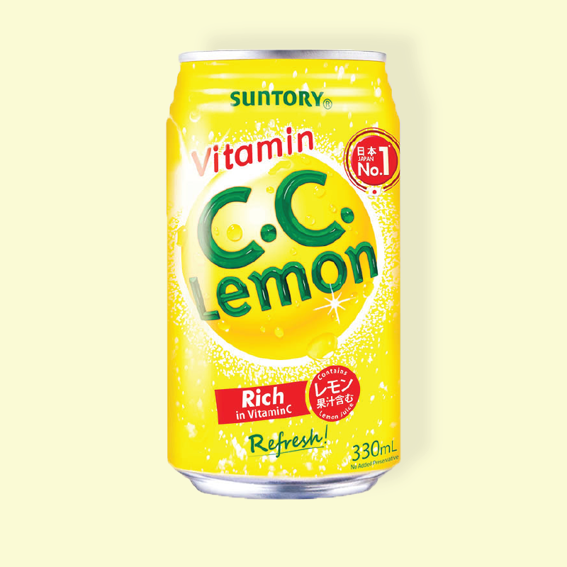 Suntory Vitamin C.C. Lemon
