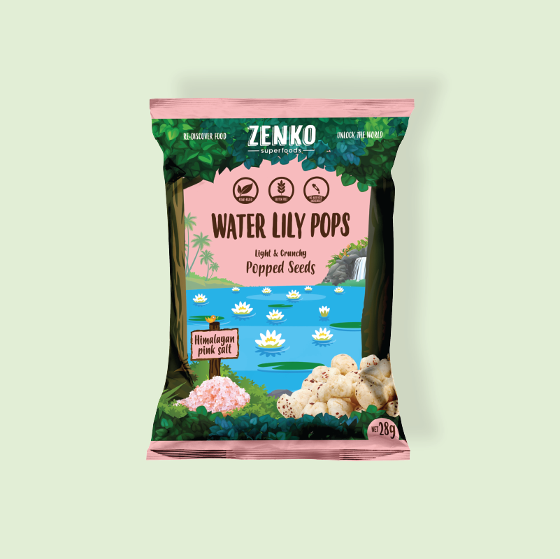 ZENKO Superfoods Water Lily Pops Himalayan Pink Salt