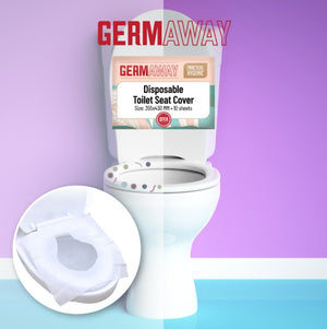 GermAway Flushable Toilet Seat Covers