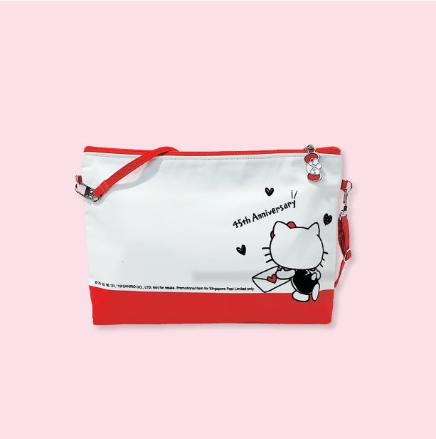 Hello Kitty 45th Anniversary Sling Pouch