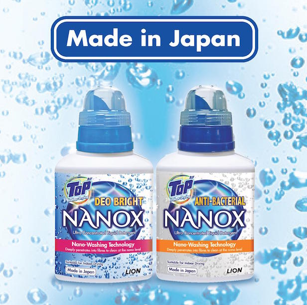 TOP NANOX Ultra Concentrated Liquid Detergent