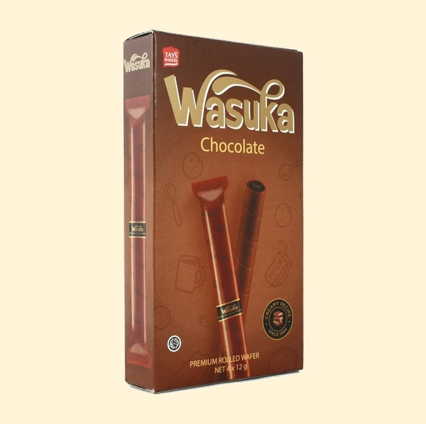WASUKA Premium Rolled Wafer Chocolate