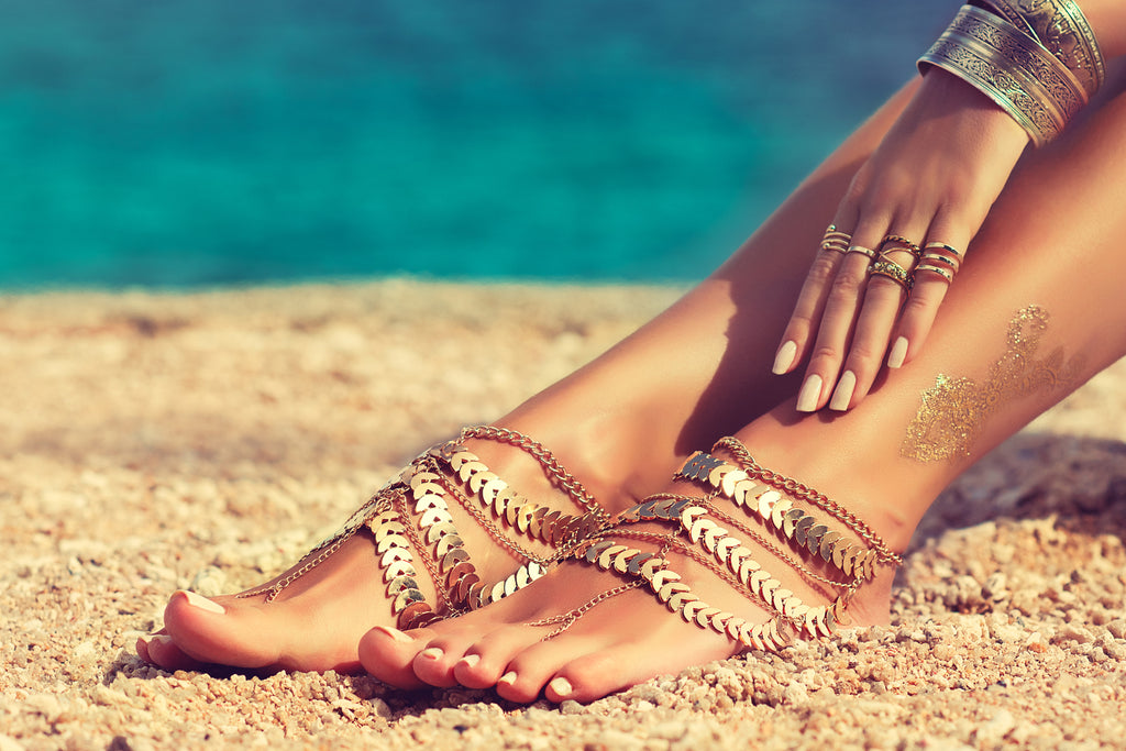 Jewellery safe in summer and while swimming