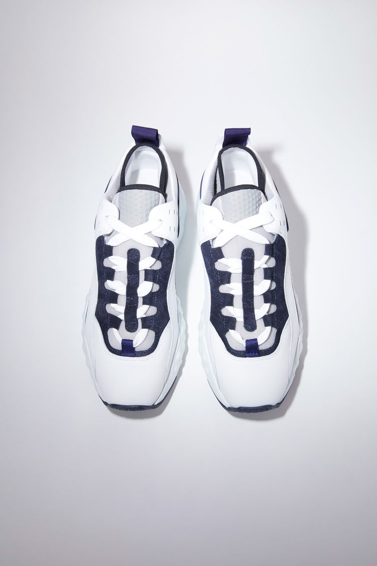 Acne Studios Manhattan Sneakers Multi White