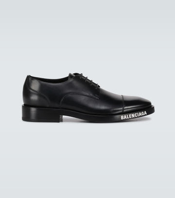 BALENCIAGA DERBY SHOES WITH LOGO