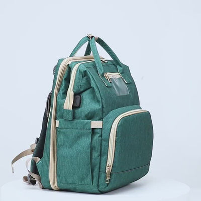 diaper bag multifunctional baby folding