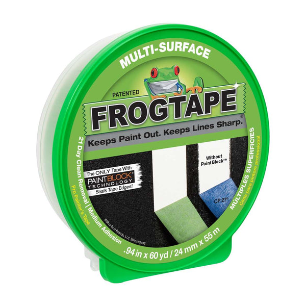 FrogTape® Multi-Surface Painter's Tape - Green, 0.94 in. x 60 yd