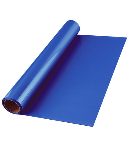 Royal Blue Premium Iron-on HTV Heat transfer vinyl roll - 12 inch by 5 feet