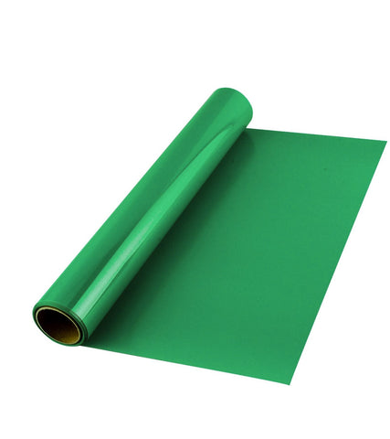 Green Premium Iron on HTV Heat transfer vinyl roll - 12 inch by 5 feet - matte finish