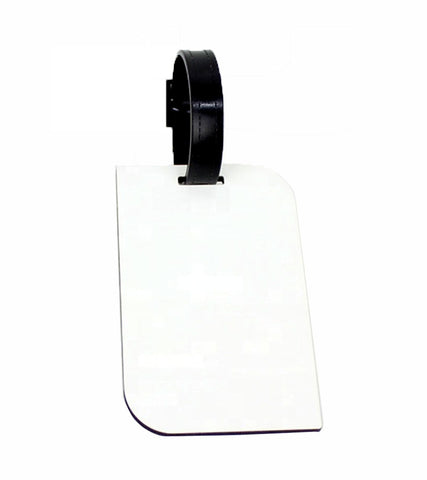 1 Lot (30 Pieces) - Sublimation MDF Luggage Tag with belt