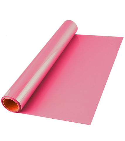 Pink Premium Iron-on HTV Heat transfer vinyl roll - 12 inch by 5 feet