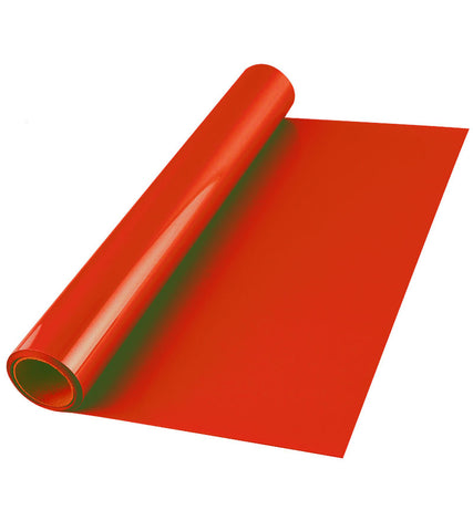 Red Premium Iron-on HTV Heat transfer vinyl roll - 12 inch by 5 feet - matte finish