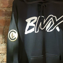 Load image into Gallery viewer, Never Not Riding Black BMX Hoodie