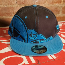 Load image into Gallery viewer, Animal BMX Black Blue New Era Fitted Hat 7 1/8