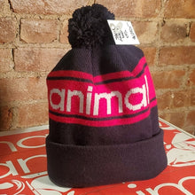 Load image into Gallery viewer, Black/Red Animal Beanie