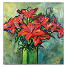 Load image into Gallery viewer, Red Lillies