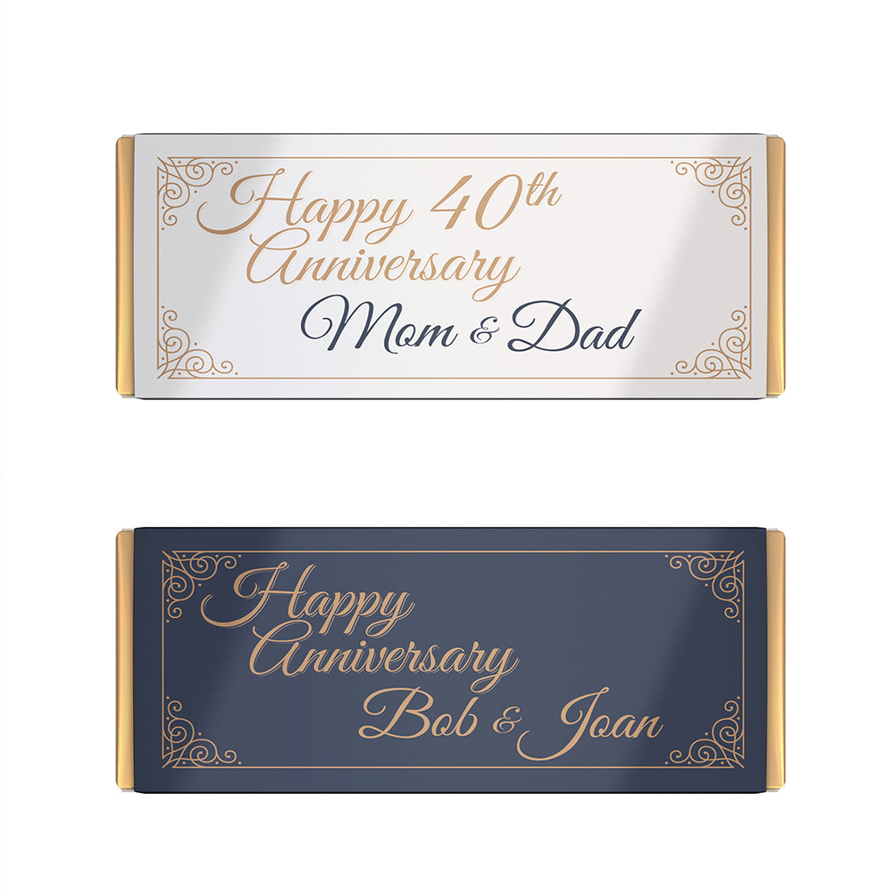 Free Happy Anniversary Candy Bar Labels