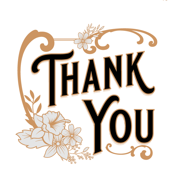 Free Vintage Thank You Downloads
