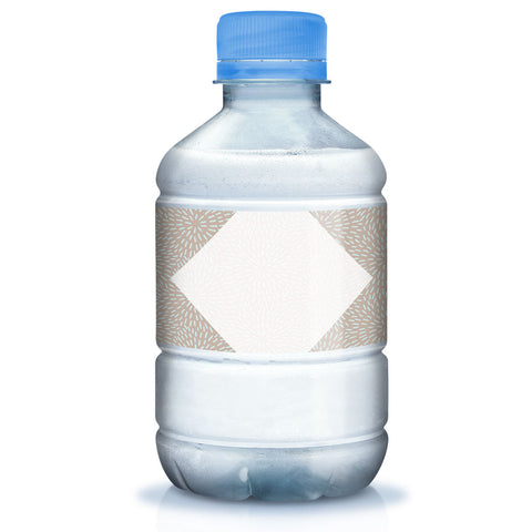 Modern Confetti Water Bottle Wraps, 7x2 inch