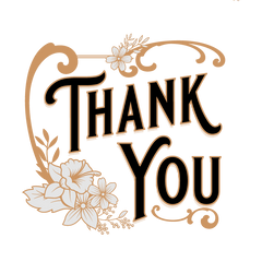 free vintage thank you images