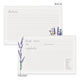 Lavender Flowers Recipe Cards, Set of 48, 4x6 inches, Water Resistant - Recipe Card- dashleigh