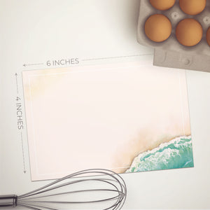 Beach Notecards, 4 x 6 inches, Set of 48 - Stationery- dashleigh