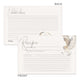 Owl Recipe Cards, Set of 48, 4x6 inches, Water Resistant - Recipe Card- dashleigh